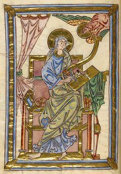 Evangelist Luke | Gospel Book | England | 1051-1064 | The Morgan Library & Museum