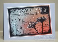 StampingMathilda: Darkroom Door Stamp & Crayon Resist