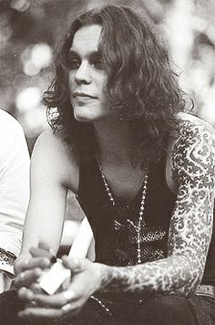 ville Valo, beautiful. I love his sleeve