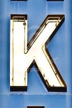 Alphabet Photography Letter K
