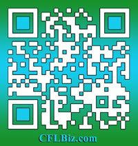 Our QR code for Marilyn Simmons' CFLBIz.com