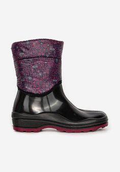 Cizme de cauciuc Gorizia V2 Negre Crocs, Rubber Rain Boots, Biker, Fashion, Moda, Fashion Styles, Fashion Illustrations