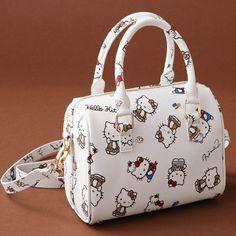 14543c539 Hello Kitty x Nina mew Leather Handbag Bag White Ninamew JAPAN Online Shop  / Online Store