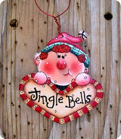 Jingle Bells Elf 12 by CountryCharmers