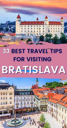 The Beauty on the Danube is an unspoiled gem in the heart of Europe. These 33 Bratislava travel tips will make sure you know how to best plan your visit. | Bratislava Travel Guide | Bratislava Travel Hacks | Visit Bratislava | Travel to Bratislava Slovakia European Travel Tips, European Vacation, Europe Travel Guide, European Destination, Travel Destinations, Travel Reviews, Travel Goals, Travel Inspiration, Travel Photography