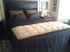 Custom bedding & pillows for a client