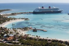 (PHOTO: Paul Gauguin Cruises) Beautiful places you can only visit on a cruise:  Castaway Cay, Bahamas  Located in the tropical waters of the Bahamas, Castaway Cay provides the ultimate escape for Disney Cruise Line passengers, whether you're seeking adventure, relaxation or quality time with the family. Just like the Disney ships, the 1,000-acre island is designed with unique activities and areas for every age group, providing an exceptional experience for all. Pelican Plunge is a…