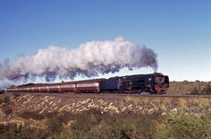 South African Railways, Flying Scotsman, Old Trains, Train Pictures, Train Journey, Steam Engine, Steam Locomotive, Train Tracks, Engineering