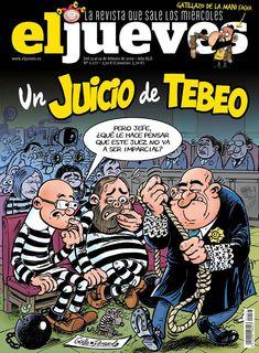 Portada Revista El Jueves nº. 2177 Comic Books, Comics, Digital, Cartoons, Products, Journals, Cover Pages, Magazine Front Cover, Drawings