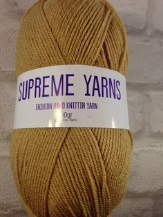 Supreme Yarns beige/coffee colour 100 gram by Bitsandbobstopia Cheap Yarn, Coffee Colour, Yarns, Supreme, Knitted Hats, Winter Hats, Beige, Knitting, Trending Outfits