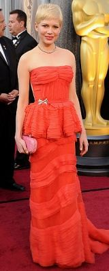 Michelle Williams at the 84th Annual Academy Awards
