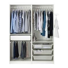 """PAX Wardrobe - soft closing damper, , , 59x26x79 1/4 """" - IKEA"""