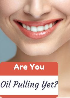 """It's Great for Whiter Teeth and Better Health!  Read Your """"Oil Pulling 101"""" Guide Here:  http://sublimebeautynaturals.com/oil-pulling-101/"""