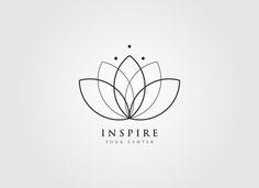 Lotus tattoo, golden ratio in design, yoga logo, minimal logo, minimal tatt Great Logo Design, Logo Design Inspiration, Creative Design, Logo Lotus, Ganesha Tattoo Lotus, Lottus Tattoo, Logo Fleur, Yoga Logo, Zen Logo