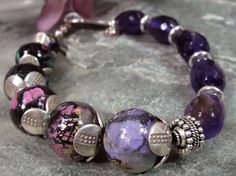 Love the simplicity of this bracelet posted today on Patti's blog. She does marvelous work!