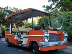 Classic Cadillac Golf Cart~