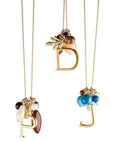 Alphabet Cluster Necklace