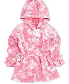 Hawke & Co. Kids Coat, Toddler Girls Rain Jacket - Kids - Macys ...