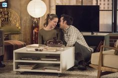"Kara and Mon-El in the Supergirl 2x14 ""Homecoming"" promo photos. OH MY GOSH!!! <3 (I know problems are coming, but I'm just gonna enjoy this while I can.) 