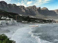Camps Bay, Cape Town Cape Town South Africa, Amazing Pics, Camps, Ny Times, Playground, Places To Visit, African, River, Mountains