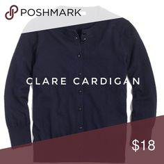 J Crew Factory Clare Cardigan Worn once, freshly cleaned. No stains or holes. Cotton. J. Crew Sweaters Cardigans