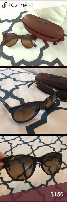 NEW Maui Jim Mannikin Sunglasses Case & cleaning cloth included! No scratches or wear and tear - worn only a couple of times. Maui Jim Accessories Sunglasses