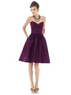 Alfred Sung Style D542 http://www.dessy.com/dresses/bridesmaid/d542/?color=garnet&colorid=403#.Uq44i6XqvLQ