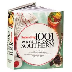 1,001 Ways To Cook Southern Cookbook from amazon.com, $23.07 - Any cookbook by Southern Living has got to be good.