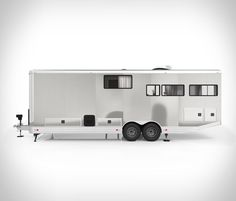 The Santa-Barbara-based Living Vehicle first introduced their exceptional mobile home back in Now they have improved upon their initial design with their latest offering - The 2020 Living Vehicle trailer. Unlike most camper trailers that are de Power To Weight Ratio, Light Trailer, Dodge Viper, Stitching Leather, Mobile Home, Camper Trailers, Caravan, Recreational Vehicles, Home