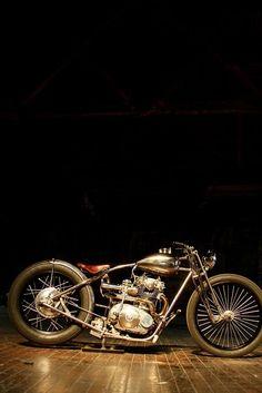 doyoulikevintage: Bobber #motorcycles #bobber #motos   caferacerpasion.com