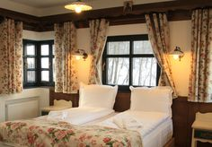 Brătescu Mansion is an authentic Romanian mansion located in Bran. More than a boutique hotel, Brătescu Mansion is a fairy tale place from Romania! Rustic Room, A Boutique, Exterior, Curtains, Mansions, Interior Design, Design Ideas, Home Decor, Interiors