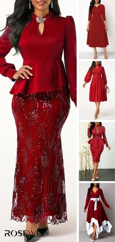 Best Fashion Tips For Women Over 60 - Fashion Trends African Maxi Dresses, African Attire, Dressy Dresses, Elegant Dresses, Christmas Dress Women, Over 60 Fashion, Lace Dress Styles, African Print Fashion, Classy Dress