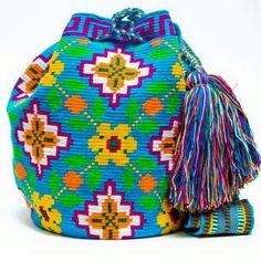 Wayuu Boho Bags with Crochet Patterns Free Crochet Bag, Form Crochet, Crochet Patterns, Tapestry Bag, Tapestry Crochet, Mochila Crochet, Backpack Pattern, Boho Bags, Wholesale Bags