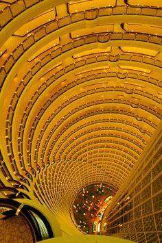 Grand Hyatt Shanghai Hotel Atrium, China