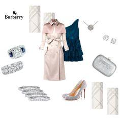 Burberry wedding