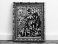 Check out this item in my Etsy shop https://www.etsy.com/ca/listing/485609245/batman-dc-comics-original-fan-artwork