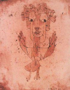 Paul Klee, New Angel, 1920