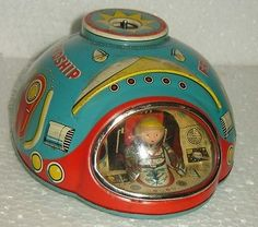 RARE VINTAGE LITHO TIN TOY MADE IN JAPAN WITH TRADE MARK MODERN TOYS | Toys & Hobbies, Vintage & Antique Toys, Other Vintage & Antique Toys | eBay!