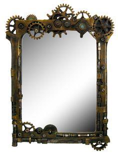 Miroir steampunk