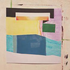 Série Primavera. (2a Semana DIFTP)  Papel, trabalho a óleo reciclado (cortado), lápis de cor, caneta marca texto.