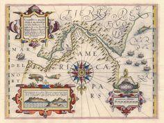 Estreito de Magalhães Jodocus Hondius