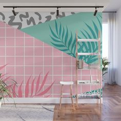 Gorgoeus Ideas Of Tropical Wall Mural For Summer. Here are the Ideas Of Tropical Wall Mural For Summer. This article about Ideas Of Tropical Wall Mural For Summer was posted under the category by our team at May 2019 at am. Hope you enjoy it and . Room Wall Painting, Mural Wall Art, Painted Wall Murals, Bedroom Murals, Bedroom Wall, Painted Window Frames, Wall Design, House Design, Wall Decor
