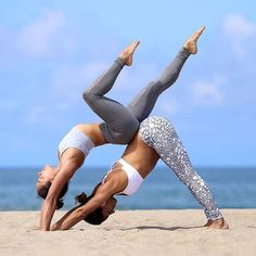 An list of the most important yoga poses for beginners. Jump start your home practice or prepare for classes by getting to know these poses. Two People Yoga Poses, Couples Yoga Poses, Acro Yoga Poses, Partner Yoga Poses, Yoga Poses For Two, Yoga Poses For Beginners, 2 Person Yoga Poses, Group Yoga Poses, Acro Dance