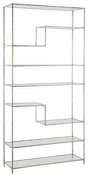 Arteriors Worchester Bookshelf contemporary-bookcases 40Wx13Dx 83H $4248