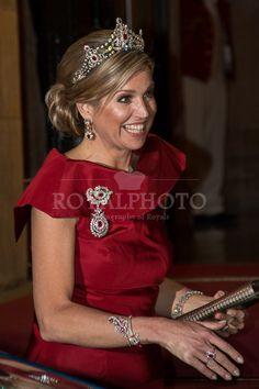 Koning en Koningin bieden Corps Diplomatique diner aan