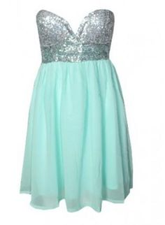 sequin and mint dress #babydolldress