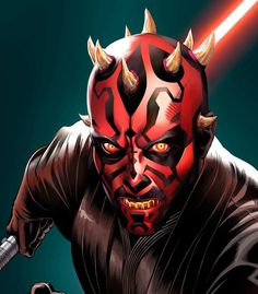 Star Wars - Darth Maul by Mark S. Miller *