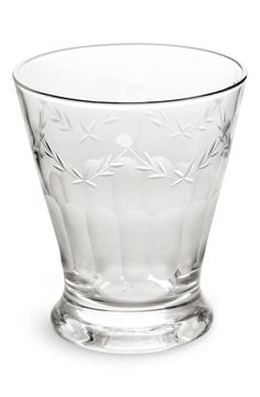 Rosanna 'French Bistro' Etched Drinking Glasses (Set of 4) available at #Nordstrom