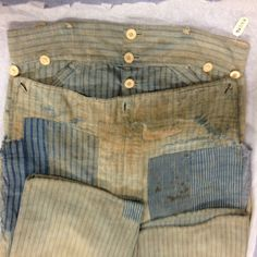 11967.13.16, trousers ca 1830. Gift of Mrs Muriel Buckley, URI Textile Collection.