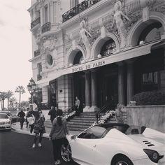 #Casino Hotel de Paris from #Montecarlo #Monaco